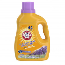 Arm & Hammer Concentrated 2X 1 pack 68.6oz 44Ld Liquid HE Lavender & Linen