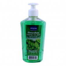 Amoray Premium Diamond Essence Liquid H/Soap 2 pack 14Oz PH Peppermint Passion