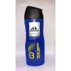 Adidas Shower Gel 2 pack 13.5Oz (400Ml) Sport Energy