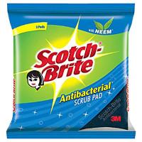 3M Scotch Brite AntibacterialScrub Pad 6ct