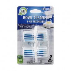 Air Fusion Bowl Cleaner & Freshener 1 Pack 2Ct Hanger Fresh Linen