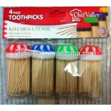 Chef's Valley Toothpick Wooden 1 Pack 4Pk