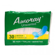 Amoray Pads 4 Pack 30Ct Panty Liners