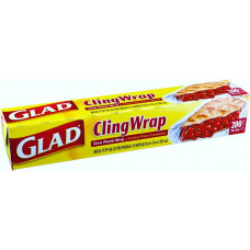 Glad Cling Wrap 1 Pack 200Sq.Ft
