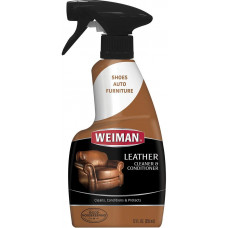 Weiman Leather Cleaner & Conditioner 1 pack 12Oz Trigger