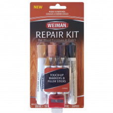 Weiman Repair Kit (4 filler sticks & 4 touch up markers) 1 Pack 1Ct