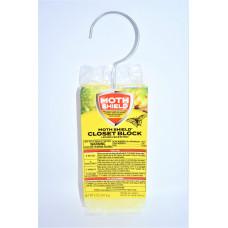Moth Shield Closet Deodorizer 1 Pack 5Oz Lemon