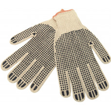 Working Gloves String Knit 1 pack 1ct Double Sided With Dots