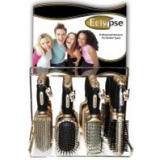 Dura K Hairbrushes 1 pack 1Ct Eclypse On Metal Display