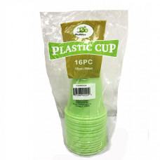 16oz Cups 1 pack 16Ct Green