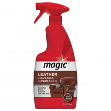 Magic? Leather Cleaner & Conditioner 1 pack 24Oz. Trigger