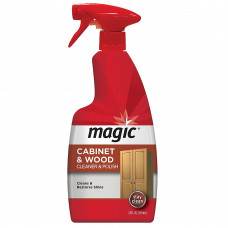 Magic? Cabinet & Wood Cleaner And Polish 1 pack 24Oz. Trigger