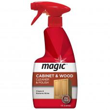Magic? Cabinet & Wood Clean & Shine 1 pack 14Oz. Trigger