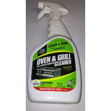 Clean'N Done Oil & Grease Remover Oven & Grill Cleaner 1 pack 32oz Fume Free (Orange) Kosher For Passover