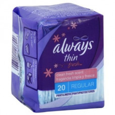 Always P/L 1 pack 20Ct Thin Regular Scented