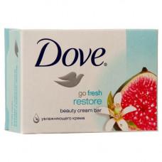 Dove  S/Bar 1 Pack 135G Go Fresh Restore Go Fresh Beauty Cream Bar W/Blue Fig & Orange Blossom