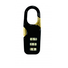 Guard Luggage Locks Resettable 1 pack 1ct Assorted Colors
