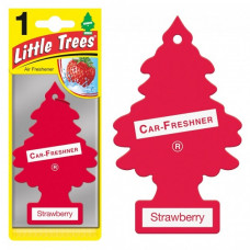 Little Trees Car Fresheners 1 Pack 1Ct Strawberry