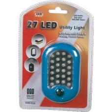 Bright Way 27 Led Utility Light 1 pack 1Ct W/Magnetic Back & Folding Swivel Hook