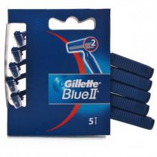 Gillette Blue II Razors 1 Pack 5Pk