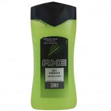 Axe Shower Gel 1 pack 8.45 Oz (250Ml) Anti Hangover 3 In 1