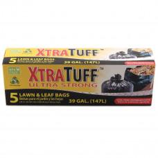 XtraTuff Trash Bag 1 Pack 5Ct Box Trash Bags 39Gallon