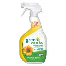 Green Works 1 pack 30Oz General Bathroom Cleaner Spray  Clorox