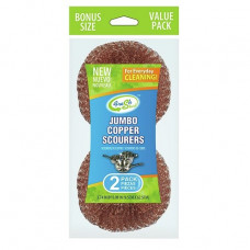 Sponges Copper Mesh 24 Pack 2Pk Jumbo Fresh Start