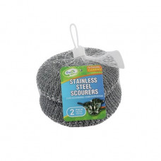 Sponges Stainless Steel Mesh 2 Pack 2Pk Jumbo Fresh Start