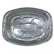 Oval Roaster Pan H/Duty 1 Pack 1Ct Usa