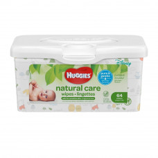 Huggies Baby Wipes 1 Pack 64Ct Natural Care Fragnance Free