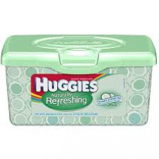 Huggies Baby Wipes 1 Pack 64Ct Natural Refreshing