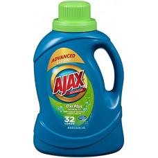 Ajax Liq. 2X 1 pack 50Oz HE Oxi Plus Odor Blitz (Blue)