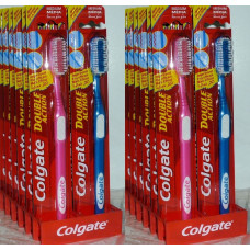 Colgate Toothbrush 1 Pack 1Ct Double Action Medium