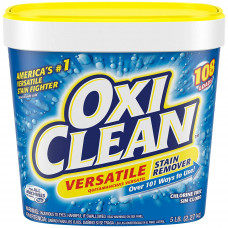 Oxi Clean Powder Versatile Stain Remover 1 Pack 80Oz