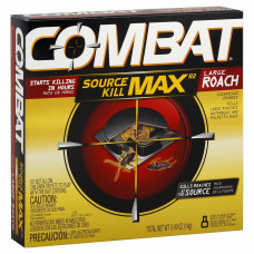 Combat Source Kill Max 12 Pack 8Ct Large Roach Baits