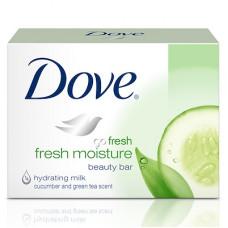 Dove S/Bar 100G 1 pack 1Ct Go Fresh Beauty Cream Bar Fresh Touch W/Cucumber & Green Tea Scent