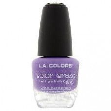 L.A. Colors Nail Polish W/Hardener 1 pack 1Ct Fun In The Sun