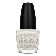 L.A. Colors Nail Polish W/Hardener 1 pack 1Ct Sassy Sparkle
