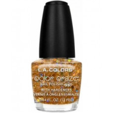 L.A. Colors Nail Polish W/Hardener 1 pack 1Ct Goddess