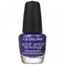 L.A. Colors Nail Polish W/Hardener 1 pack 1Ct Jewel Tone