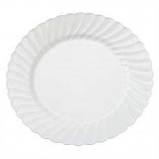 Classicware Plates 10.25 Dinner 1 pack 12Ct White