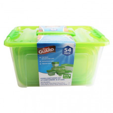 Fresh Guard Storage Container Set 54Pk 8 Pack 1Ct Green