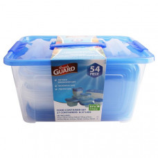Fresh Guard Storage Container Set 54Pk 1 Pack 1Ct Blue