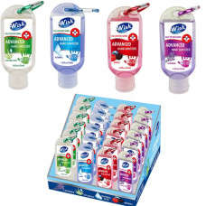 Hand Sanitizer 1 pack 1.8Oz Clip Assorted Counter Display Wish