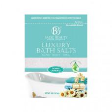 Bazic Beauty Luxury Bath Salt Bag 1 Pack 4Lb Calming Chamomile