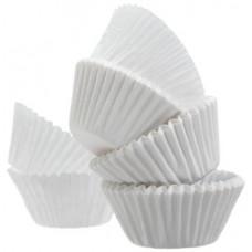 Fantastic Baking Cups Mini  1 Pack 72Ct White