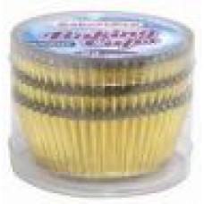 Fantastic Baking Cups Standart Size 1 Pack 72Ct Foil Gold
