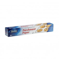 Dining Collection Parchment Paper 24 Pack 50Sq.Ft Genuine Vegetable Silicone Coated