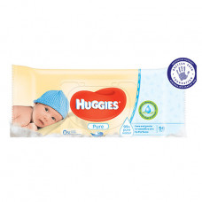 Huggies Baby Wipes Refill 1 Pack 56Ct Pure